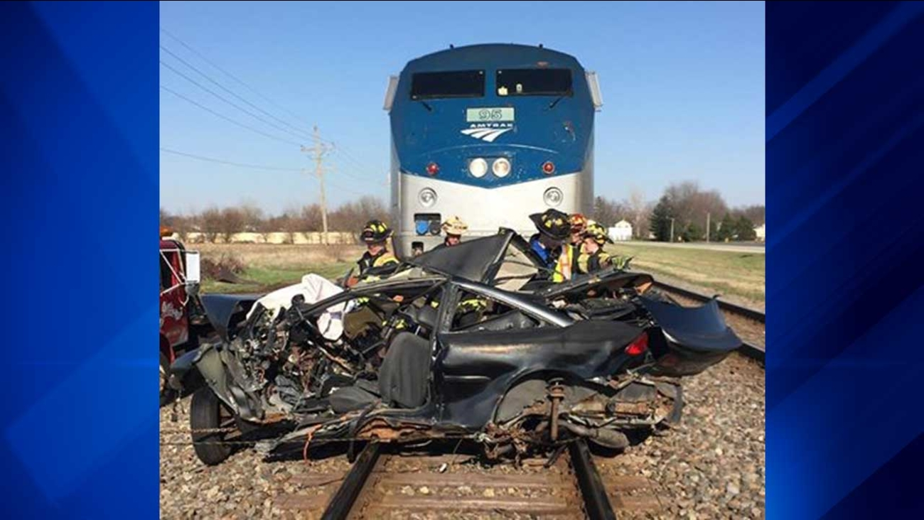 Man, 28, killed when Amtrak train hit his vehicle in DeKalb County