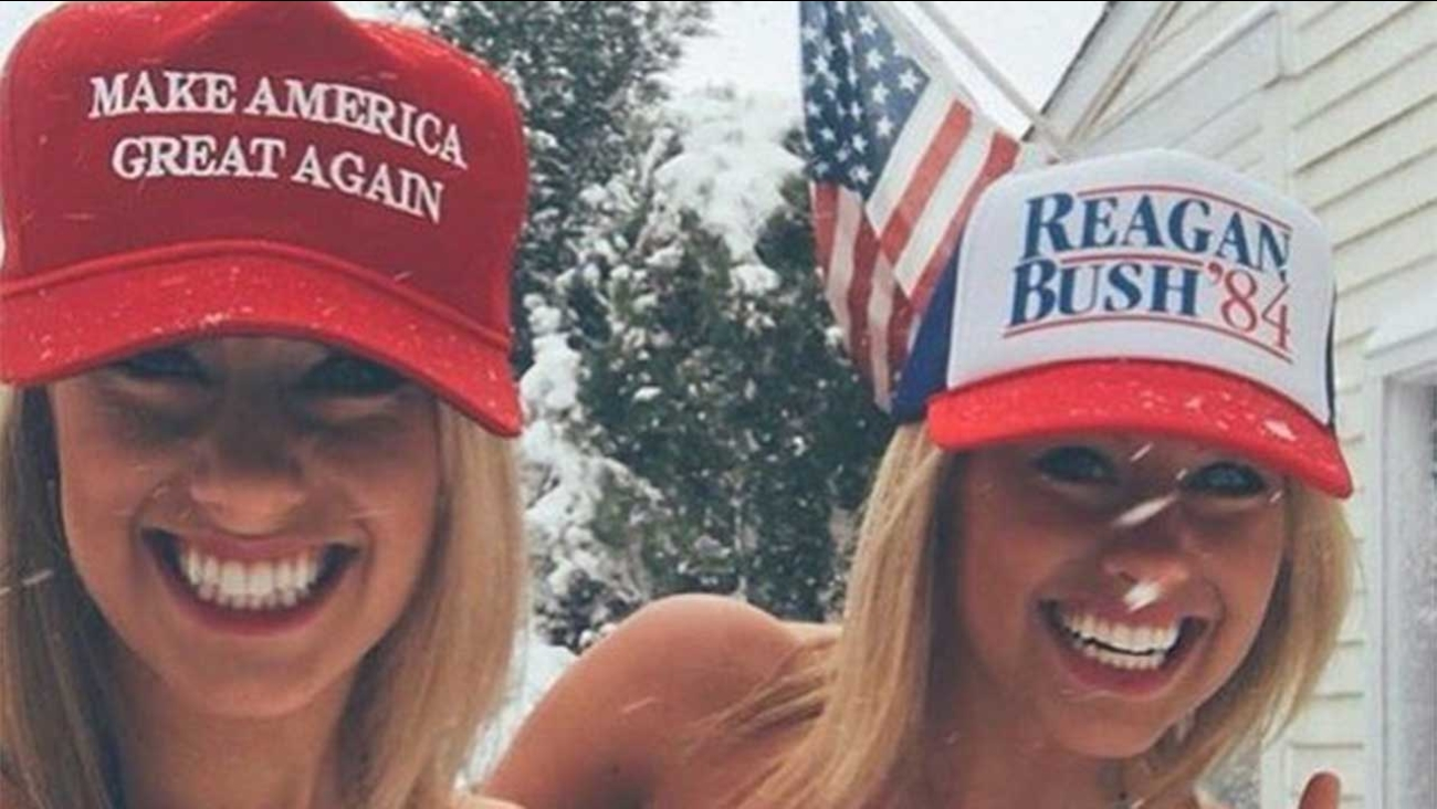 Image result for trump with babes