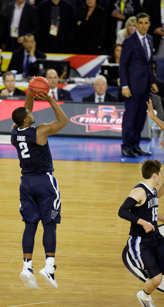 "<div class=""meta image-caption""><div class=""origin-logo origin-image ap""><span>AP</span></div><span class=""caption-text"">Villanova's Kris Jenkins (2) shoots a game winning three point basket in the closing seconds of the NCAA Final Four tournament college basketball championship game. (AP Photo/Charlie Neibergall))</span></div>"