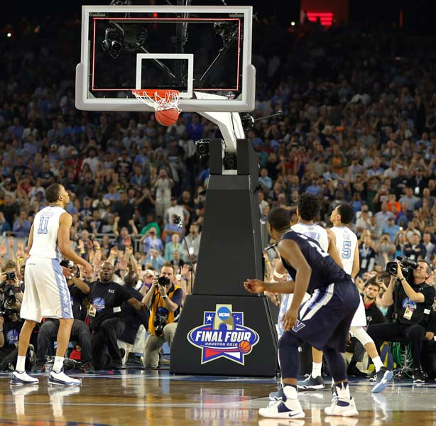 "<div class=""meta image-caption""><div class=""origin-logo origin-image ap""><span>AP</span></div><span class=""caption-text"">Villanova's Kris Jenkins (2) watches his game winning three point basket at the closing seconds of the NCAA Final Four tournament college basketball championship game. (AP Photo/Kiichiro Sato)</span></div>"
