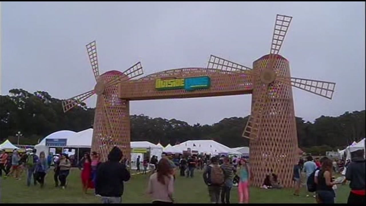 This image shows the Outside Lands Concert from August, 2014.