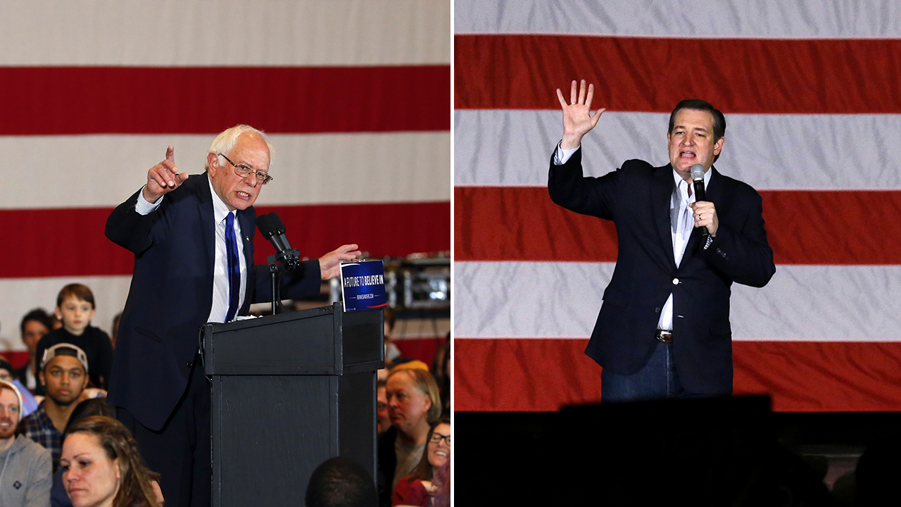 Bernie Sanders and Ted Cruz picked up important wins Tuesday night,
