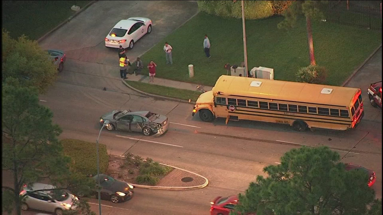 Alief bus accident