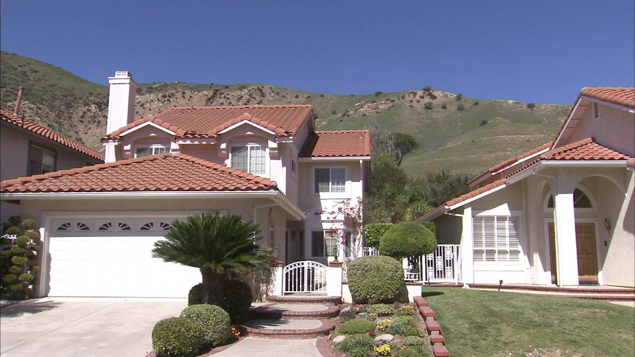 Homes in Porter Ranch are seen in this undated file photo.