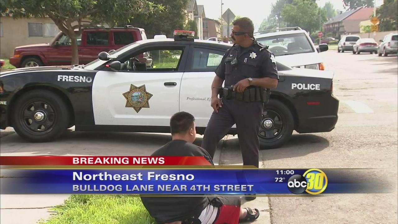 Guns, drugs found in and around child's crib in Fresno