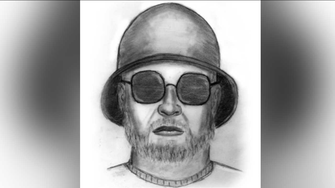 The Los Angeles County Sheriff's Department released this sketch of a suspect sought for attacking two people with a hammer in East Los Angeles on March 25, 2016.