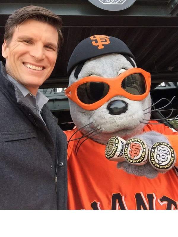 "<div class=""meta image-caption""><div class=""origin-logo origin-image none""><span>none</span></div><span class=""caption-text"">ABC7 News reporter Matt Keller poses with Lou Seal at the San Francisco Giants home opener at AT&T Park April 7, 2016. (KGO-TV/ Matt Keller)</span></div>"