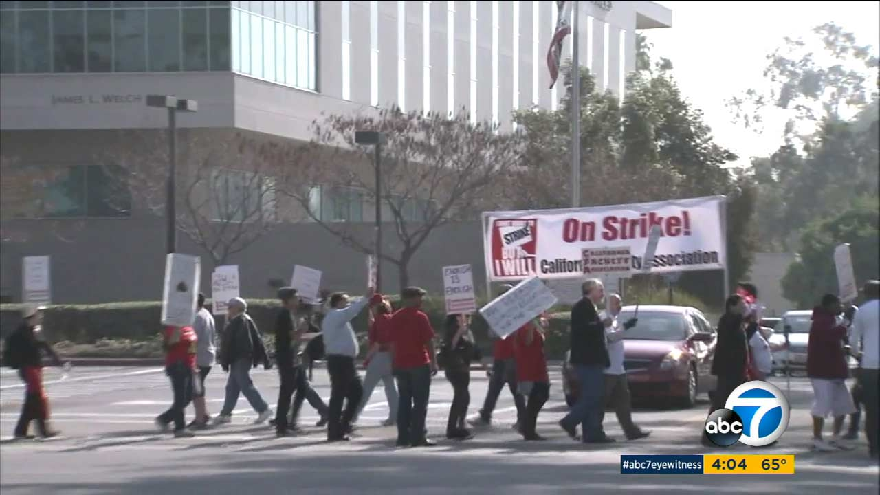 A planned five-day strike by the California State University faculty has been postponed after the union and officials reached a tentative salary deal.