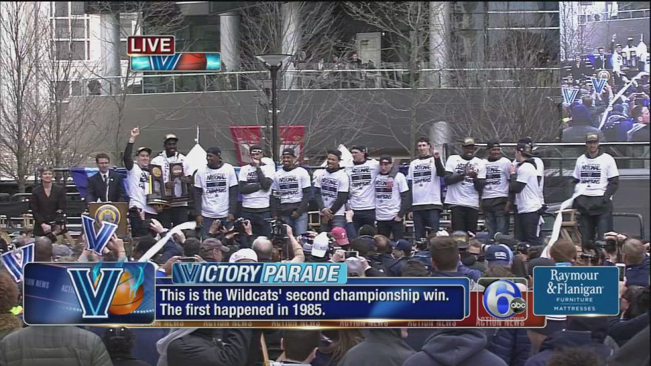 Villanova Parade In Philadelphia On Thursday April 5 Route Street Closures Parking And Mtransit Info 6abc Com