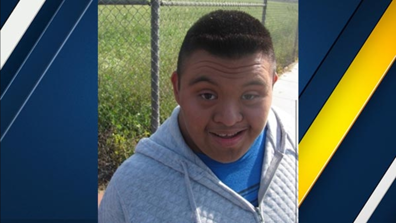 Bell Gardens police were searching for 18-year-old Victor Delgado who was last seen the morning of Thursday, April 8, 2016.