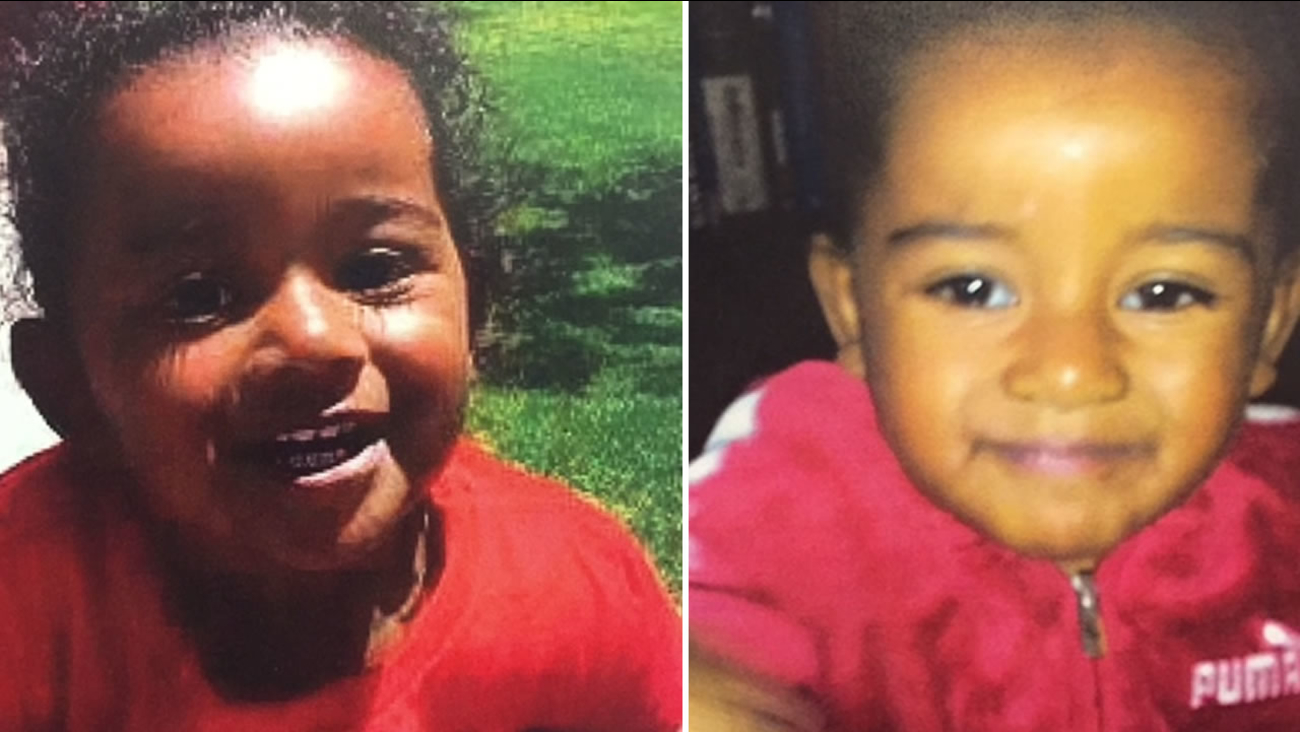 These images released by the San Francisco Police Department show 2-year-old Arianna Fitts who was last seen in late February.