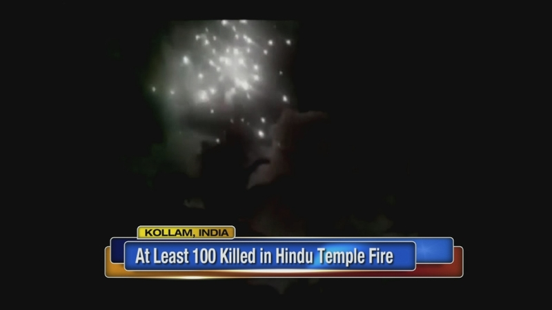 VIDEO: Massive fire kills more than 100 in south India temple fire