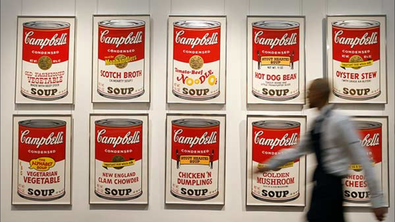 andy warhol campbell's soup - HD1600×900