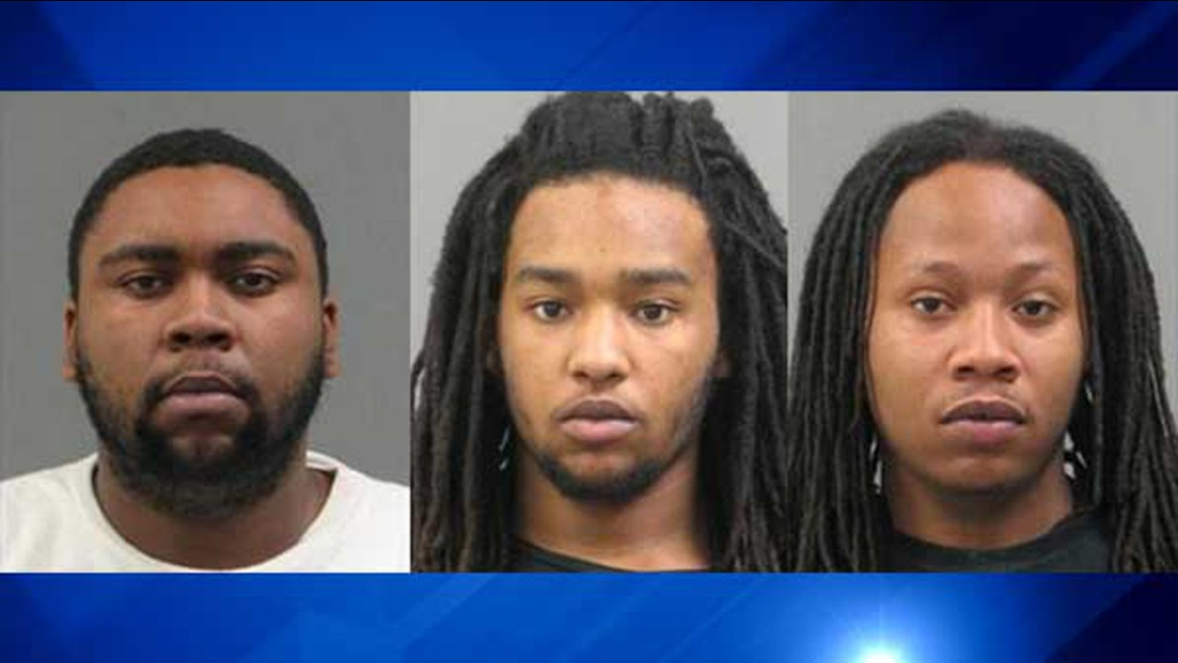 Brandon D. Campbell, 21; Justin L. Crowder, 19; and Sherron P. Reed Jr., 20.