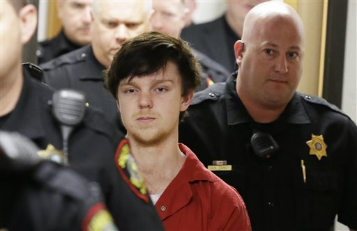<div class='meta'><div class='origin-logo' data-origin='none'></div><span class='caption-text' data-credit='AP'>Ethan Couch is led by sheriff deputies after  a juvenile court for a hearing Friday, Feb. 19, 2016</span></div>