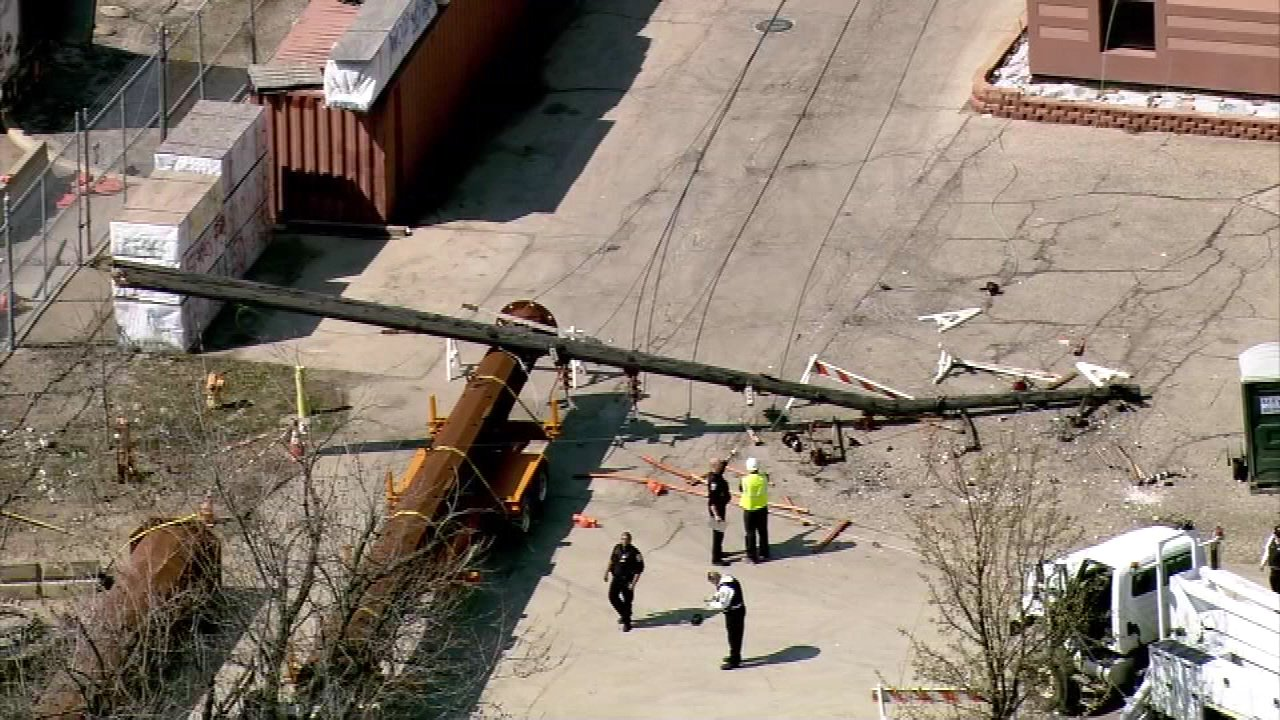 Worker injured in Forest Park power line accident