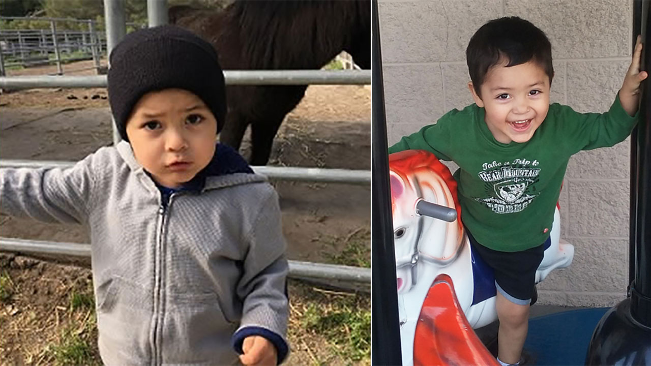 Jacob Vargas, 2, was abducted from Soledad in Monterey County Thursday, April 14, 2016.
