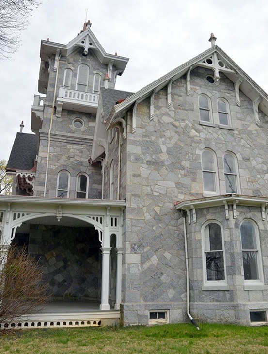 "<div class=""meta image-caption""><div class=""origin-logo origin-image wpvi""><span>WPVI</span></div><span class=""caption-text"">Pictured: Loch Aerie mansion in East Whiteland Twp., Chester County.  All photos courtesy Carla Joy Zambelli.</span></div>"