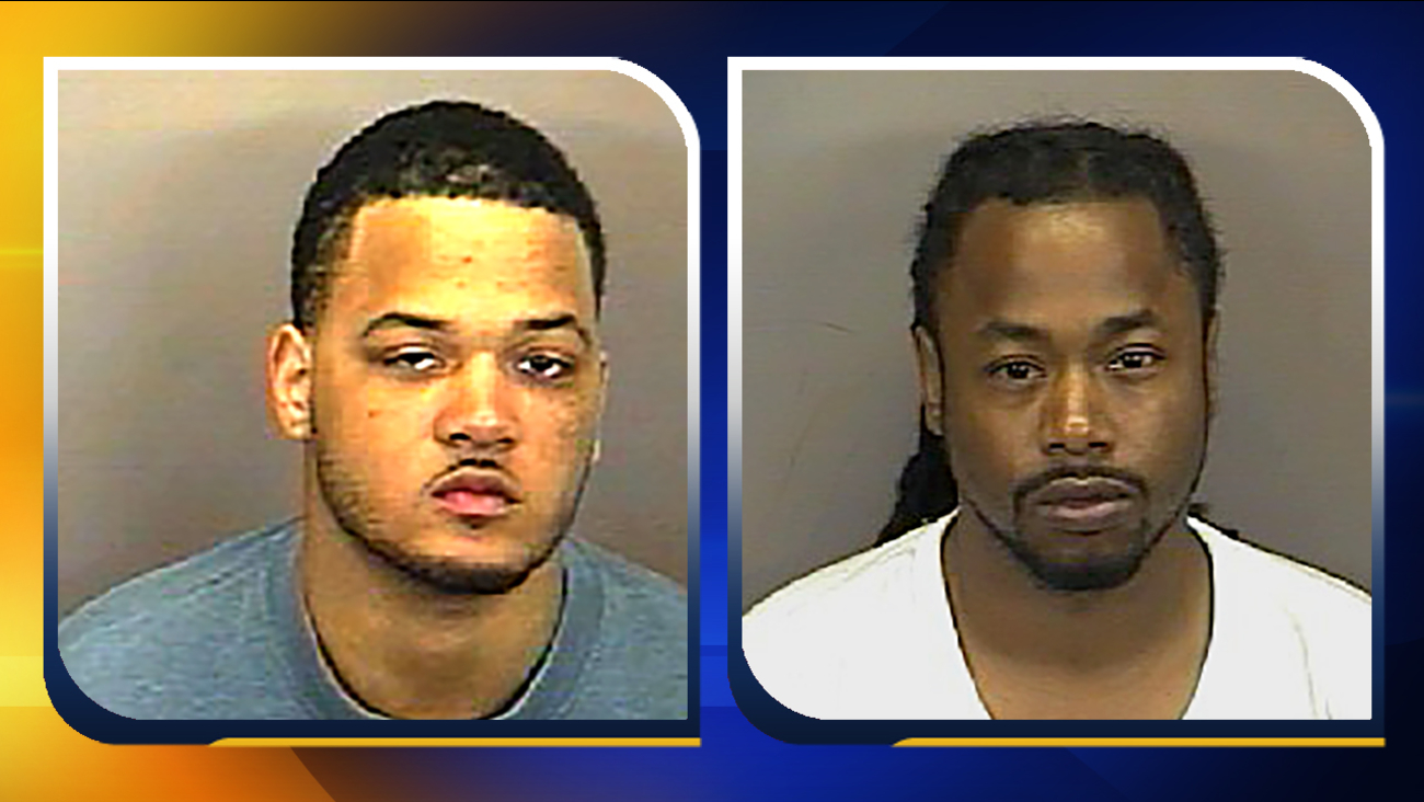 "Antuanne Montez Shaw, left, and Antonio ""Tony"" Laturan Whitted."
