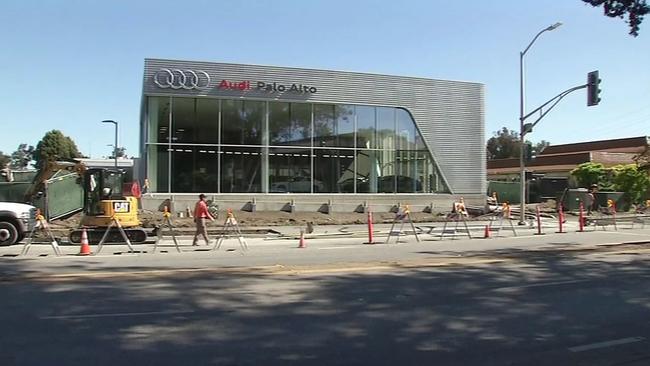 Man Says Dashcam Captures Palo Alto Mechanic Joyriding In His Car - Audi palo alto