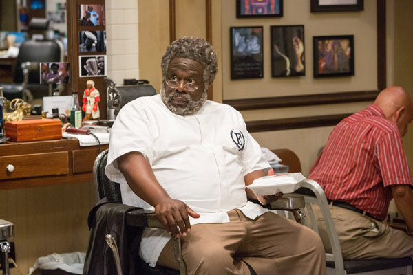 """<div class=""""meta image-caption""""><div class=""""origin-logo origin-image ap""""><span>AP</span></div><span class=""""caption-text"""">In this image released by Warner Bros., Cedric The Entertainer appears in a scene from """"Barbershop: The Next Cut."""" (Chuck Zlotnick/Warner Bros. via AP)</span></div>"""