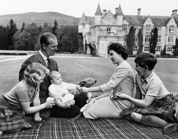 "<div class=""meta image-caption""><div class=""origin-logo origin-image none""><span>none</span></div><span class=""caption-text"">Prince Philip holds his infant son, Prince Andrew, in his lap in a 1960 family photo. (AP Photo)</span></div>"