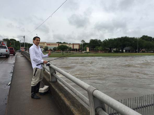 <div class='meta'><div class='origin-logo' data-origin='none'></div><span class='caption-text' data-credit='abc13 iWitness user'>Photos from abc13 viewers show flooding and storm damage across the Houston area.</span></div>