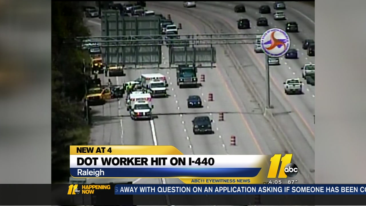 DOT workershit on I-440