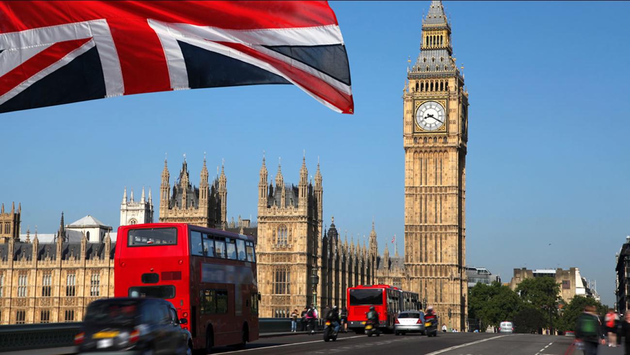 British Parliament building.