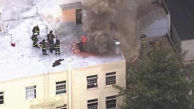 San Francisco Firefighters Control 3 Alarm Structure Fire Near Dolores Park