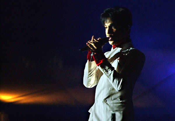 <div class='meta'><div class='origin-logo' data-origin='none'></div><span class='caption-text' data-credit='Anat Givon/AP Photo'>Prince performs in Hong Kong Friday, Oct. 17, 2003.</span></div>
