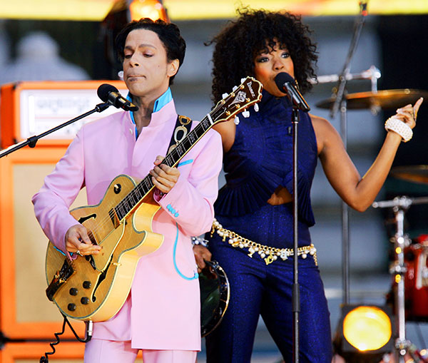 "<div class=""meta image-caption""><div class=""origin-logo origin-image none""><span>none</span></div><span class=""caption-text"">Prince performs on stage with singer Tamar during ABC's ''Good Morning America'' summer concert series in New York in June 2006. (Jeff Christensen/AP Photo)</span></div>"