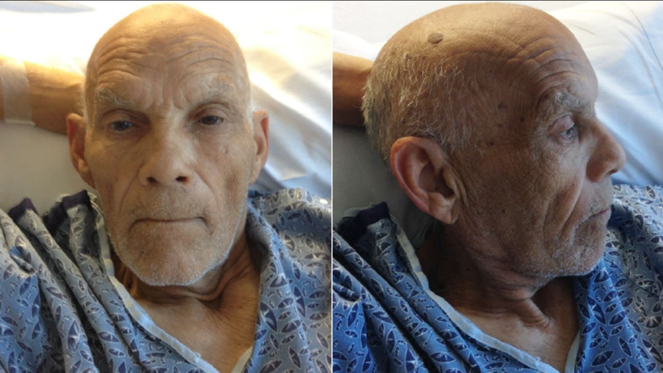 These photos show a man who was found with no proof of identification on an MTA bus, according to the L.A. County Sheriff's Department.