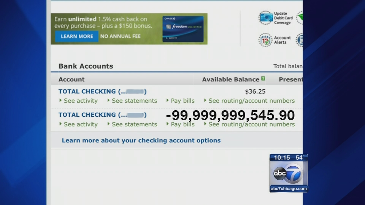 dead woman's bank account overdrawn by $99 billion   abc13
