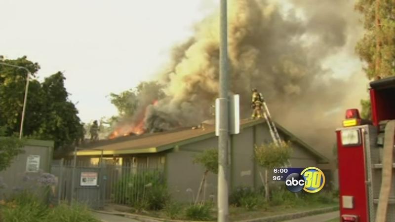 Firefighters Cigarette Butt Sparks Blaze At Fresno Apartment