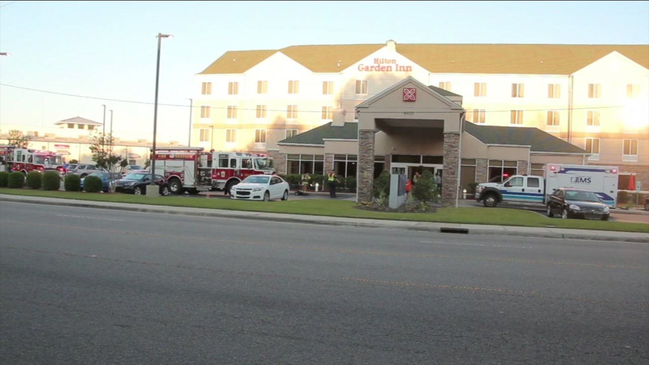 The Hilton Garden Inn in Fayetteville