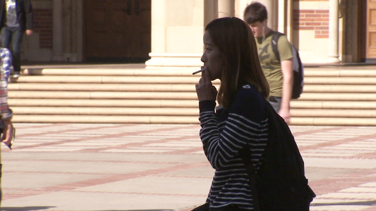 The California Assembly on Monday, April 25, 2016 approved banning tobacco use on all California State University and community college campuses.