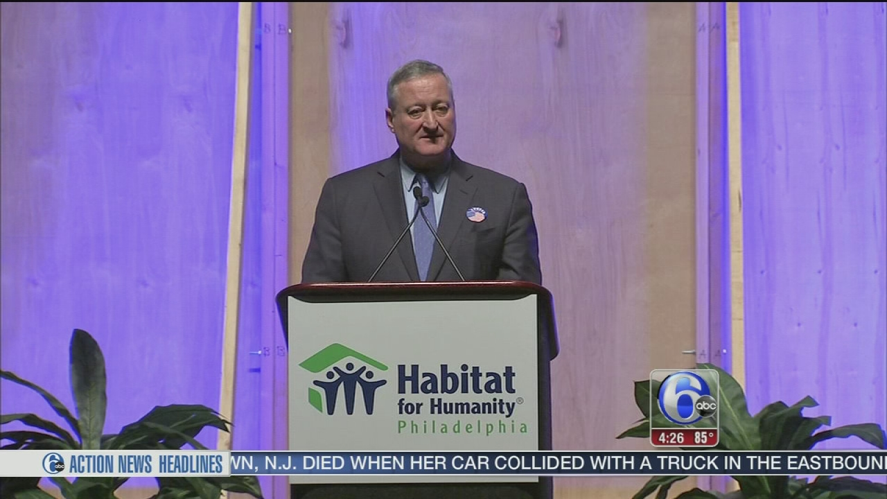 "Mayor Kenney addresses ""Building Hope"" luncheon"