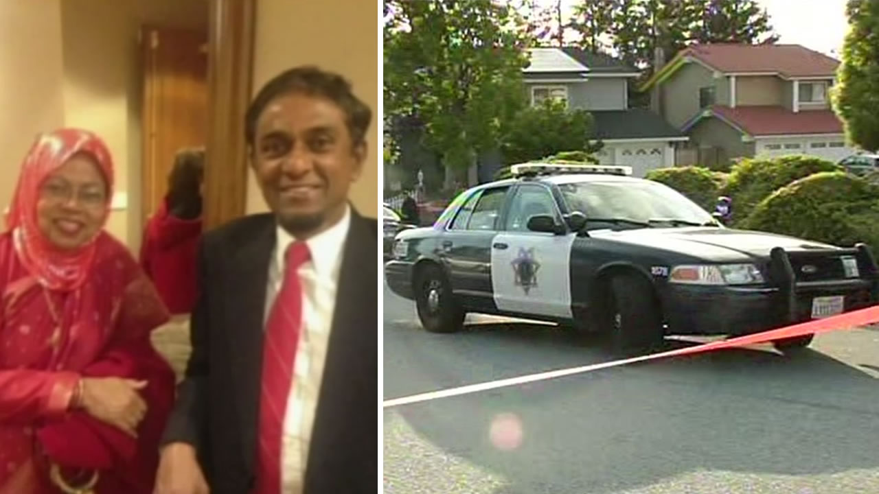 Shamima Rabbi and Golam Rabbi were found dead inside their San Jose, Calif. home on Sunday, April 24, 2016.