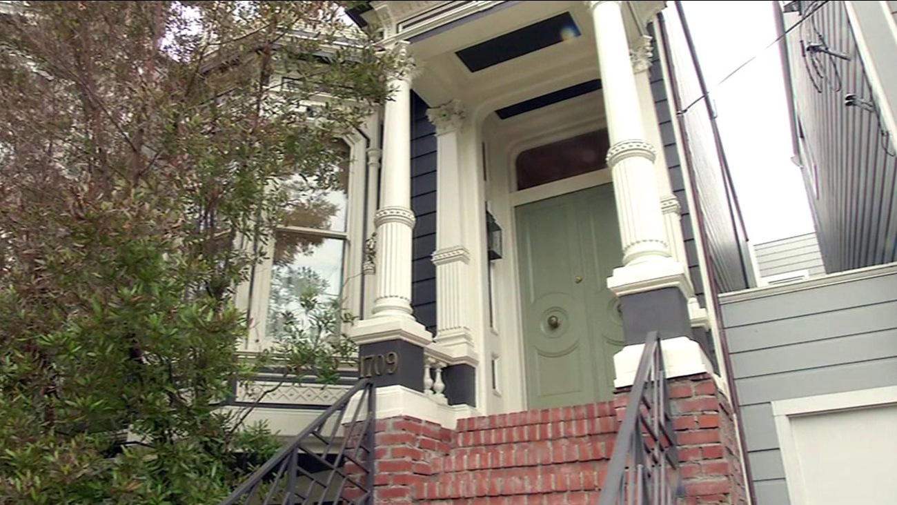 'Full House' on Broderick Street in San Francisco.