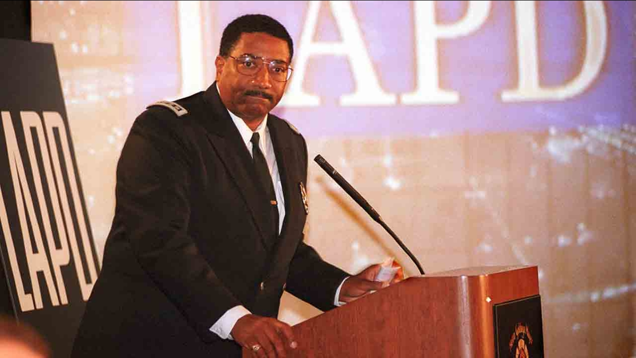 Former LAPD Chief Willie Williams is seen in this file photo.