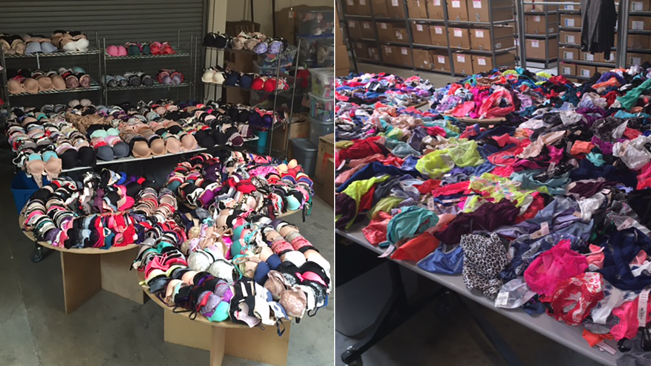 Shoplifters allegedly stole more than $500,000 worth of items from Victoria's Secret and JCPenney stores across the Southland, Montebello police said.