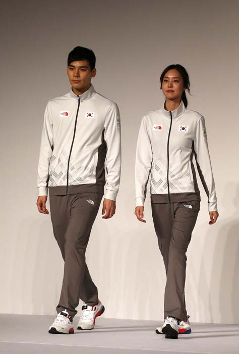 "<div class=""meta image-caption""><div class=""origin-logo origin-image ap""><span>AP</span></div><span class=""caption-text"">South Korean models present the South Korean Olympic team uniforms for the 2016 Rio de Janeiro Olympic Games (AP Photo/Lee Jin-man)</span></div>"