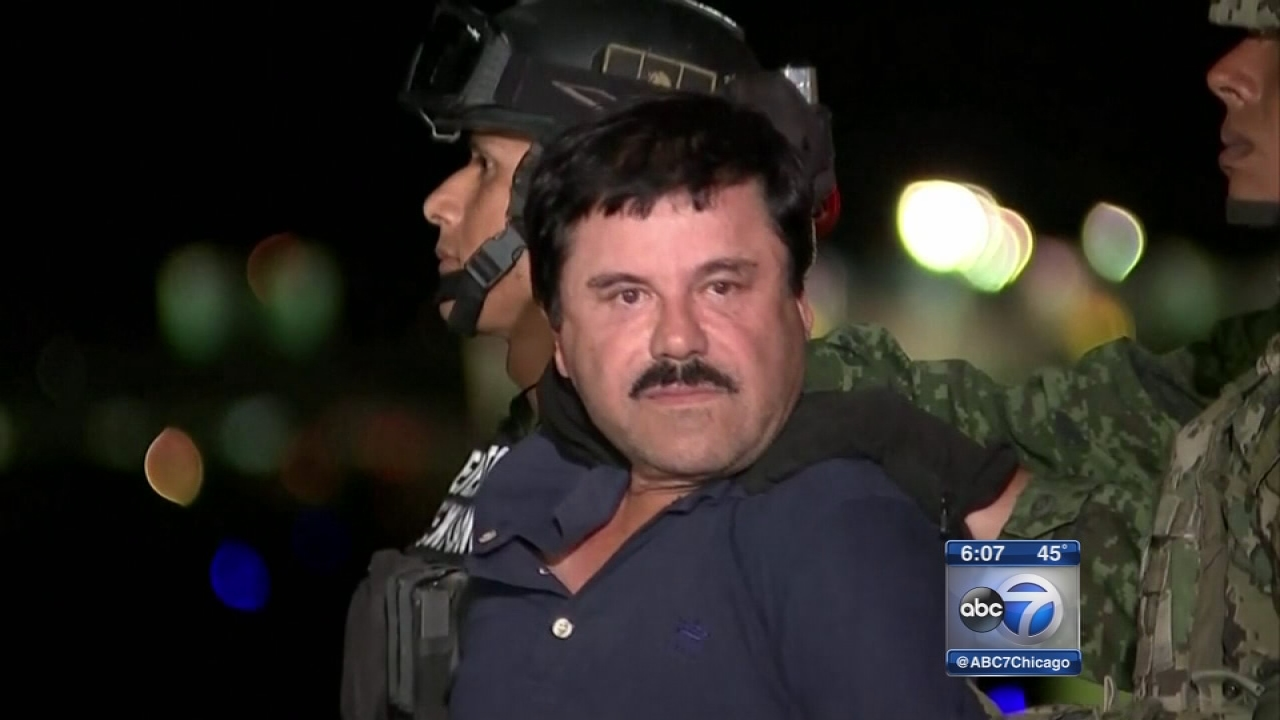Feds putting squeeze on El Chapo cartel in Chicago, Mexico