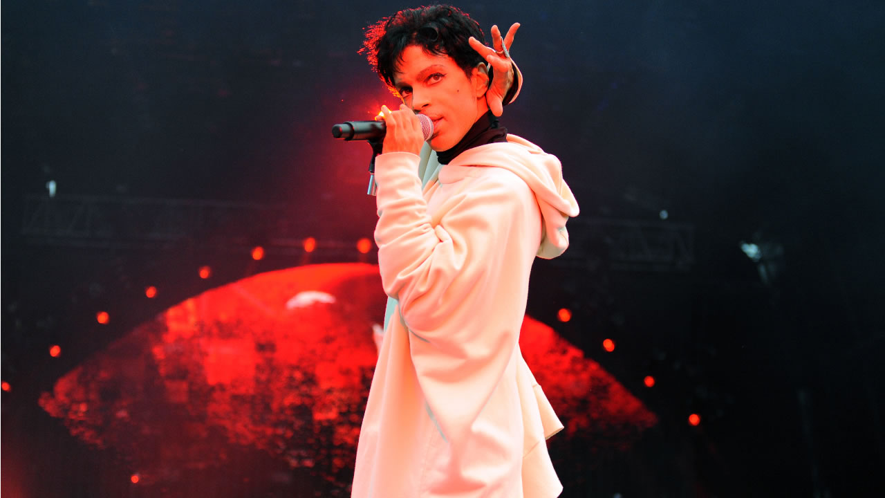 "Prince performs during his ""Welcome 2 Europe"" tour at Malahide Castle on Saturday, July 30, 2011 in Dublin, Ireland (Photo by Jordan Strauss/Invision/AP)"