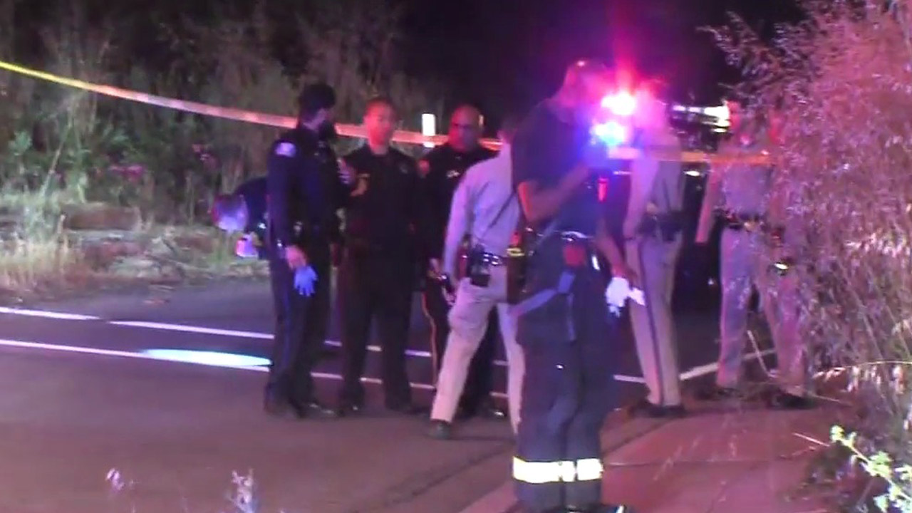 Police investigate officer-involved shooting in Milpitas, California, Friday, April 29, 2016.