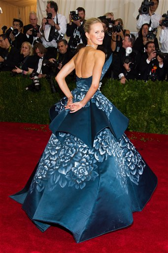 "<div class=""meta image-caption""><div class=""origin-logo origin-image ap""><span>AP</span></div><span class=""caption-text"">Karolina Kurkova  attends The Metropolitan Museum of Art's Costume Institute benefit gala celebrating ""Charles James: Beyond Fashion"" on Monday, May 5, 2014, in New York. (Charles Sykes/Invision/AP)</span></div>"