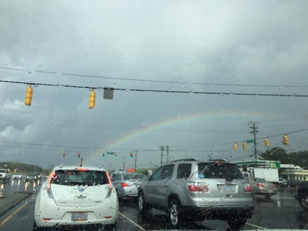 "<div class=""meta image-caption""><div class=""origin-logo origin-image wtvd""><span>WTVD</span></div><span class=""caption-text"">Garrett Ed and 15-501, rainbow after the storm. (ABC11 Eyewitness)</span></div>"