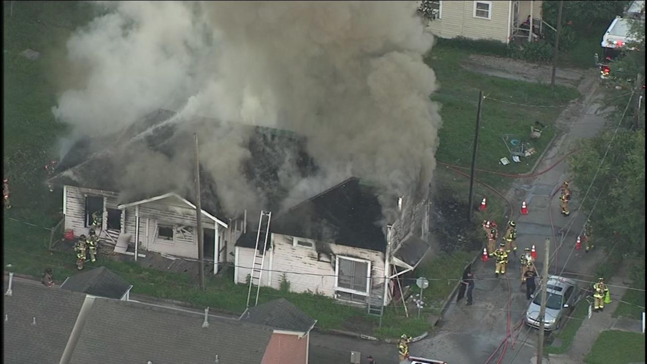 SkyEye House Fire