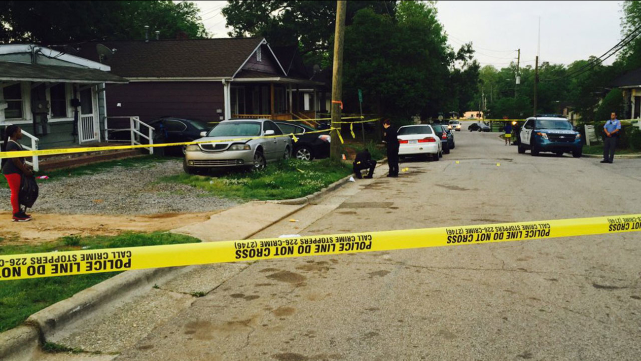 Raleigh police investigating shooting on Hill Street at E. Jones Street.